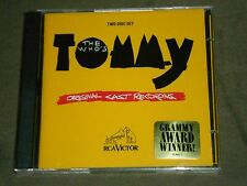 The Who's Tommy [Original Cast Recording] Dbl CD sealed