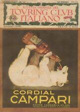 CORDIAL CAMPARI, Italia, 1920, 250gsm A3 Poster Art Deco