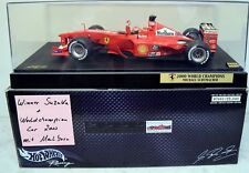 Hot Wheels 1:18 50930 Ferrari F-2000, Michael Schumacher Winner Suzuka + Worldch