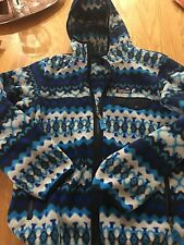 Patagonia Womens LW Snap-T Hooded Jacket 25270 Cliff: Electron Blue Medium NWOT