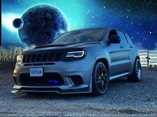 2017-2019 Jeep Grand Cherokee SRT Trackhawk front bumper lip spoiler splitter