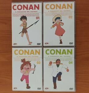 DVD - Conan il ragazzo del futuro - 1-4 - collector's box - tiratura limitata
