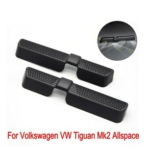 For VW Touran Tiguan Mk2 Allspace Car Seat Floor Air Duct Grille Vent Cover