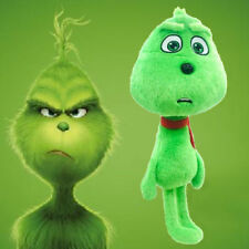 28CM Movie the Grinch Plush Toy Young Grinch Soft Stuffed Doll for Kids Gift