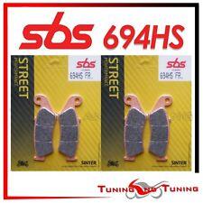 Pastiglie Freno Anteriori SBS HS Sinter Per HONDA XL V TRANSALP 600 1999  694 HS