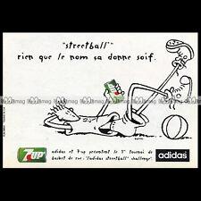 7-UP & ADIDAS avec FIDO DIDO - 1993 Pub / Publicité / Advert Ad #B206