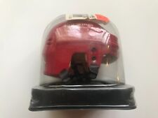 """DETROIT RED WINGS Mini Hockey Helmet 2 1/2"""" Buy 7 Helmets RED"""