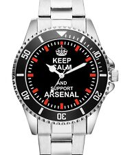 Arsenal Geschenk Fan Artikel Zubehör Fanartikel Uhr 1694