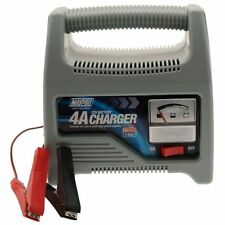 Battery Charger - 4A Charge Car Truck 12v MAYPOLE 7414