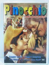 Pinnochio (DVD, 1976, TV Movie) Danny Kaye, Sandy Duncan RARE! - New/Sealed