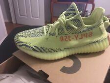 B37572 Adidas Kanye West Yeezy Boost 350 V2 Semi-Frozen Yellow Size 8 Yebra