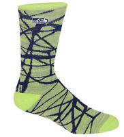 Seattle Seahawks NFL For Bare Feet Fiber Soft Crew Socks SIZE LARGE
