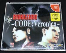 Bio Hazard Code Veronica For Japanese Sega Dreamcast System  *USA Seller*