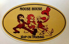 RAT ROD HOT ROD CHOPPER  BOBBER    DECAL STICKER MOUSE HOUSE