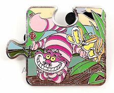 Disney Parks Alice in Wonderland Cheshire Cat Connection Mystery Puzzle Pin Le