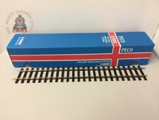 PECO St-700 Setrack Straight 400mm Long Code 124 O Gauge