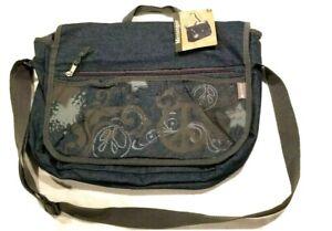 Laptop Essentials Bag By Messenger Retro 17x13