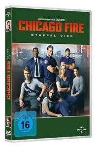Chicago Fire - Staffel vier  [6 DVD's/NEU/OVP] Taylor Kinney, Jesse Spencer, Dav
