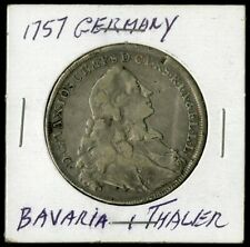 Germany Silver Coin 1757 Bavaria Thaler NO RESERVE!