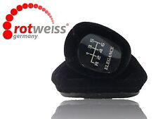 MERCEDES C CLASS ELEGANCE W203 SHIFT KNOB BOOT,VELVET BLACK, ROTWEISS Germany