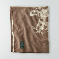 """NEW WOOLRICH X AMERICAN EAGLE OUTFITTERS AEO  EAGLE BLANKET 46"""" X 60"""""""
