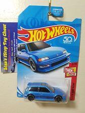 Hot Wheels 2017 Kmart Excl. THEN & NOW '90 Honda Civice EF Blue 2/10 VHTF B5