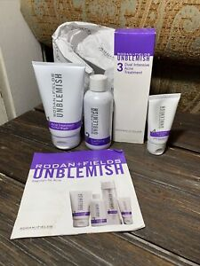 Rodan + Fields Unblemish Regimen 4 Pc Set (Exp 1/20/20) SEALED Acne Treatment