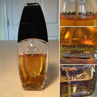 Vintage ANNE KLEIN Eau de Parfum Perfume Spray 3.3 oz/100 mL (70% full)