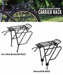 Ibera Bicycle Aluminum Rear Carrier PakRak Touring Carrier Plus Two Type Japan