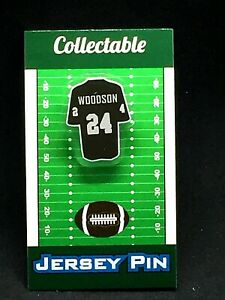 Oakland Raiders Charles Woodson jersey lapel pin-Classic team Collectable
