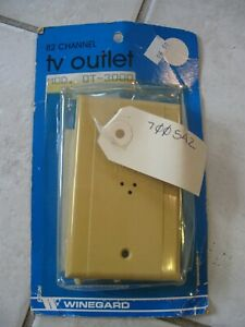 NEW Rare Winegard 82 Channel TV FM RV Outlet Screw type Kit  # OT-3000 / 300 OHM
