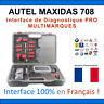 Valise Appareil Diagnostique Pro Multimarque En Français Obd2 Diagnostic DS708