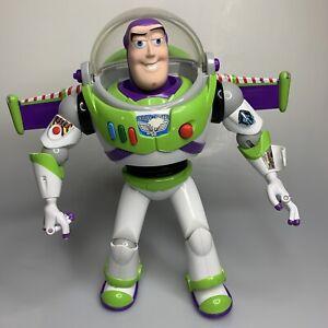 "VTG 1995 Toy Story Buzz Lightyear 12"" Talking Action Figure Disney Pixar Works"