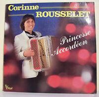 """33T Corinne ROUSSELET Disque LP 12"""" PRINCESSE ACCORDEON - VOGUE 520383 F Rèduit"""