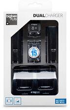Original Wii Dual Charger Ladestation für Nintendo Wii | BIG BEN | Schwarz