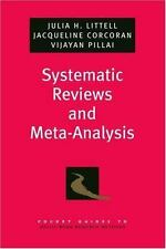 Systematic Reviews and Meta-Analysis (Pocket Guides to Social Work Research Meth