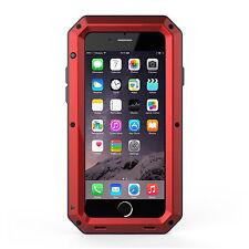 Shockproof Heavy Duty Bumper Aluminum Metal Cover Case Waterproof iPhone 5 6 7 +
