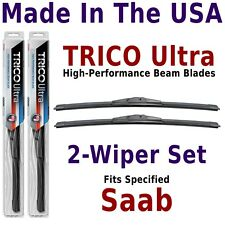Buy American: TRICO Ultra 2-Wiper Blade Set fits listed Saab: 13-14-14