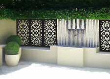 Fill the space with  5 pack indoor outdoor garden decorative privacy screens