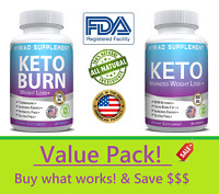 DEAL of Keto Diet Pills Ketosis BEST Weight Loss Supplement To Burn Fat Fast!