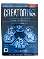 Roxio Creator NXT Pro 3 Photo Editing Software +