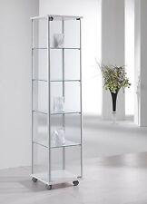 Vetrina Vetrinetta Teca alluminio vetro modellini modellismo collezionismo