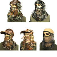 Camouflage face mask hunting, shooting, wildlife photography, pigeon decoy camo