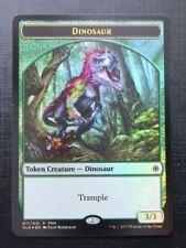 Dinosaur Treasure Token Foil Promo - Mtg Magic Card # 2C77