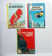 Lot BD - Benoit Brisefer 1 2 3 / EO RE / PEYO & WALTHERY / DOS ROND