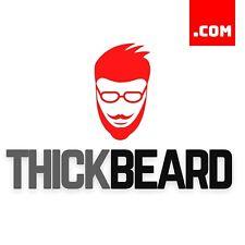 ThickBeard.com - 2 Word Short Domain Name - Brandable Catchy Domain .COM Dynadot