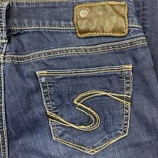 Silver Jeans Womens Suki Low Rise Ankle Jeggings Size 29 30x28