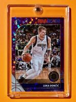 Luka Doncic PURPLE DISCO PRIZM PREMIUM STOCK 2019-20 NBA HOOPS INVESTMENT Mint!