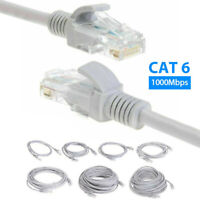 1 to 30M CAT 6 Patch Cord Cables 1000mbps Ethernet Internet Network LAN RJ45