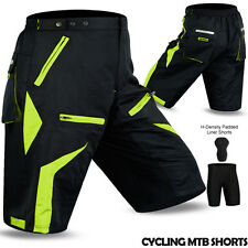 MTB Cycling Short Off Road Bicycle With CoolMax Padded Liner Short Adibike NEW